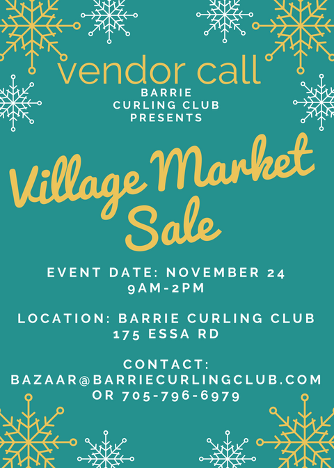 Vendor Save the Date announcement